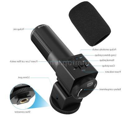 Andoer 1080P Camera Camcorder DVR & Mic Lens