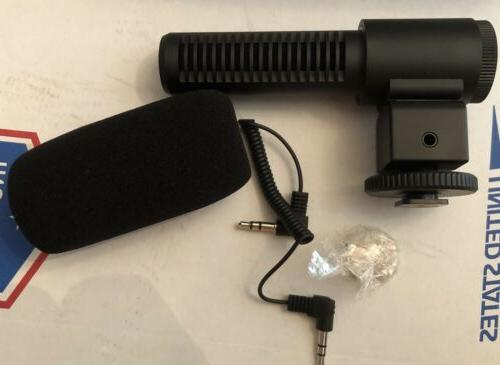 BUNDLE: HD Digital Camcorder Angle Microphone Battery