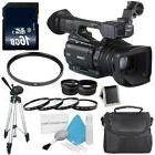 Canon XF200 HD Camcorder  + 58mm Wide Angle Lenses + 58