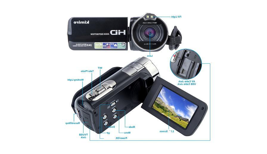 Digital Camcorders Kimire HD MP