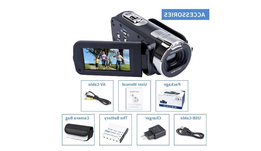 Digital Camera Camcorders HD Recorder 1080P MP 16X