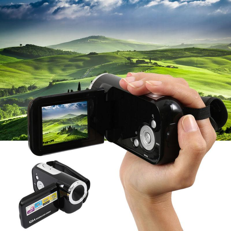 Video Camera Full HD 1080P Professional Video Camcorder 4X D