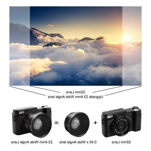 Digital Full HD 1080P Professional Video Vlogging