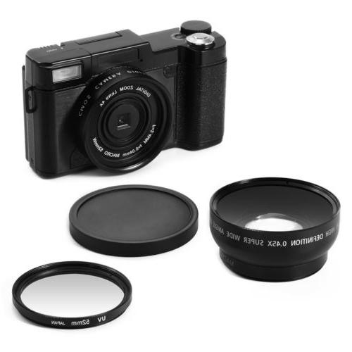 Digital 1080P Professional Camcorder