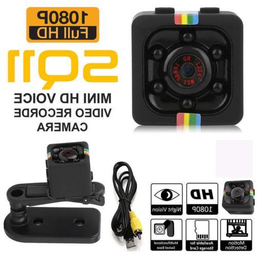 Mini SQ11 1080P Recorder Night Vision