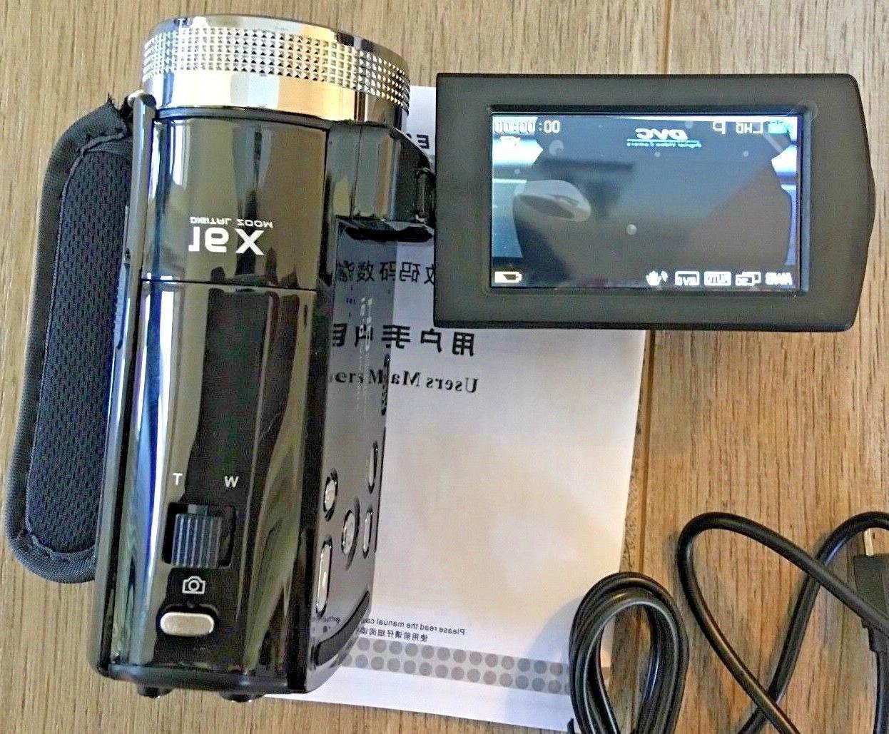 PowerLead 16MP Digital Video Recorder Black