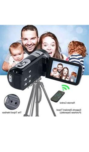 SEREE Camcorder HD 1080p Digital Camera 24.0MP 2....