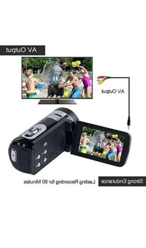 SEREE Video Camcorder Full HD Camera 24.0MP 2....