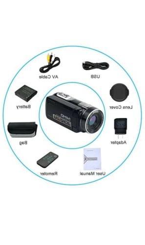 SEREE Video HD Digital 24.0MP 18x Digital Zoom 2....