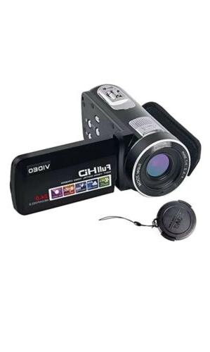 SEREE Video Camcorder Full HD 1080p Digital Camera 24.0MP 18