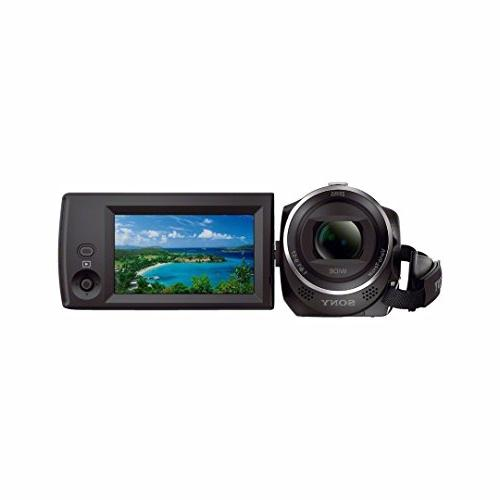 Sony HDR-CX405/B HD Camcorder w/ Accessory Kit