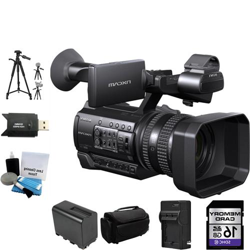 Sony HXR-NX100 Full HD NXCAM Camcorder 16GB Package