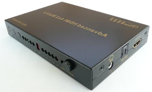 ViewHD Premium HDMI 4x2 Matrix v1.3 for HD 1080P with SPDIF