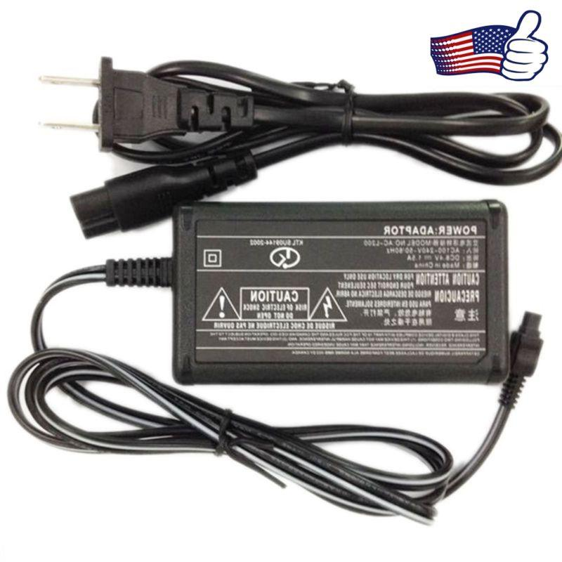 Hot AC Battery Charger Power Adapter For Sony Camcorder DCR-