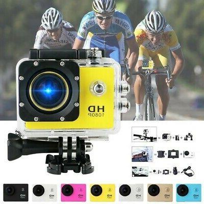 US Waterproof 400mAH Ultra HD 1080P Sport Action Camera DVR