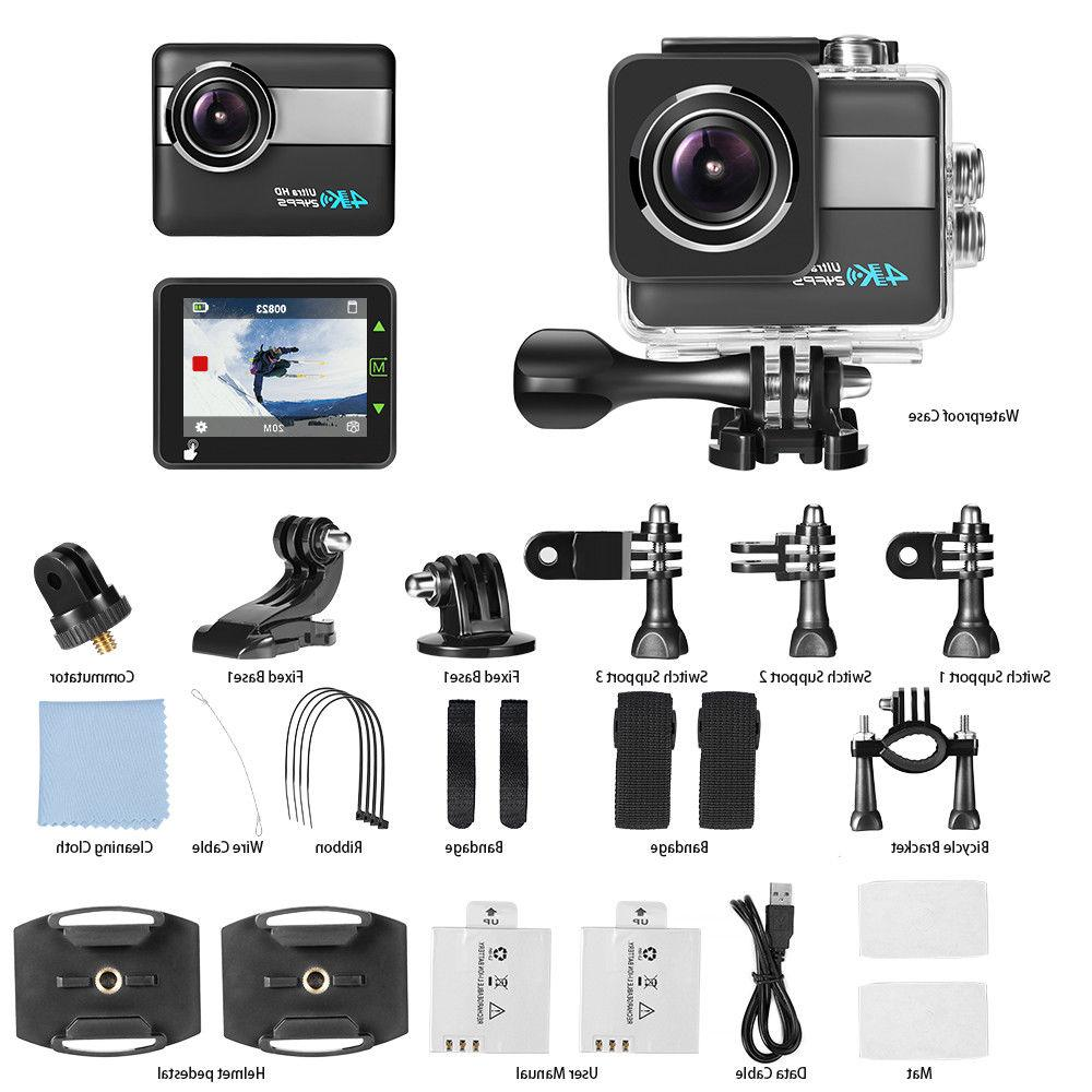 Action Camera Touchscreen Camcorder Image