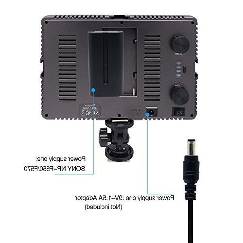 Mcoplus 160pcs Bi-color Ultra-thin Digital Camera/Camcorder video Light Sony Pentax Camera Sony