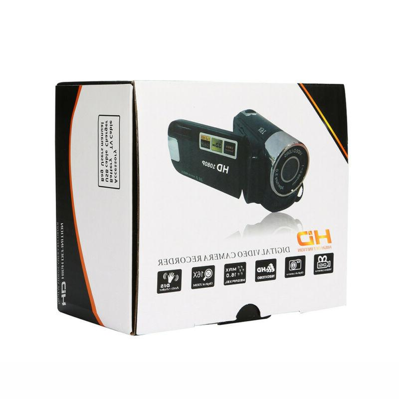 Automatic Video HD 1080P Camera 16X Digital Zoom