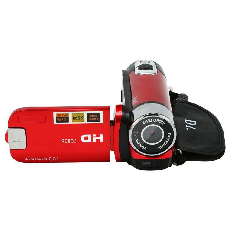Automatic Camcorder 1080P Handheld 16X Digital