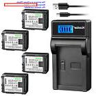 Kastar Battery LCD Charger for Canon BP-808 CG-800 Canon VIX