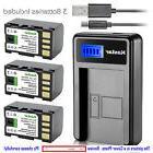 Kastar Battery LCD USB Charger for JVC BN-VF815 BN-VF815U &