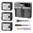 Kastar Battery Rapid Charger for Canon BP-808 BP808 CG800 &