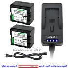 Kastar Battery Super Fast Charger for Panasonic VW-VBN130 HD