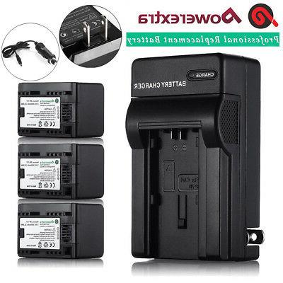 BP-727 Lithium-Ion Battery or Wall Charger for Canon VIXIA H