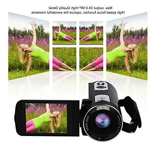 Camcorder SEREE Full 1080P MP Digital Recording