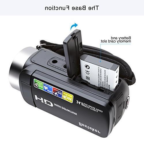 Recorder 16X HD Digital Zoom Camcorder 2.7 LCD 270 Degree