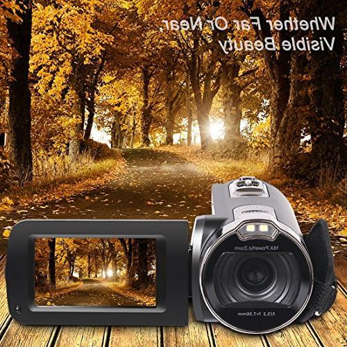 Camera 1080P Recorder Digital 2.7 Inch 270 Degree Rotation