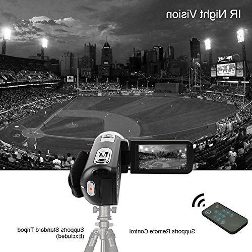Digital Video SEREE Full Vlog 24.0MP 18x Digital Zoom Rotation Screen Night