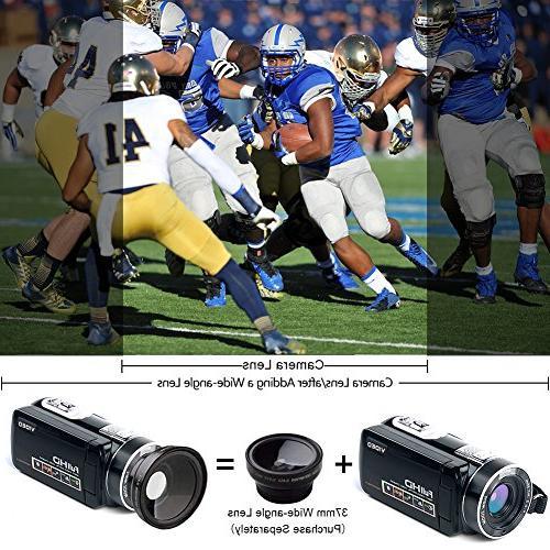 Digital SEREE HD Vlog Camera Digital Screen Camcorders