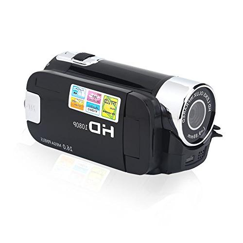 Camera Camcorder,Fosa Video Camcorder Full HD 1080P 16X Digital Camcorder Camera Great Gift Kids