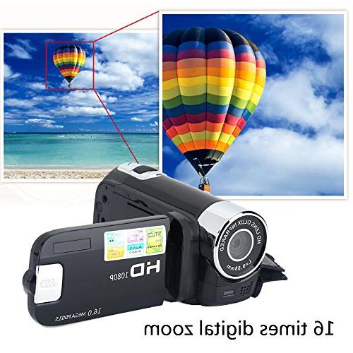 Camera Digital Video Camcorder Full HD 1080P High Definition Digital Camcorder Camera Great Kids