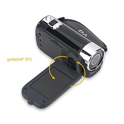 Camera Camcorder,Fosa Video Camera Full 1080P High Digital Camera Great for Kids