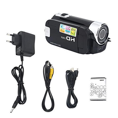 Camera Video Camcorder Handy Full 270° Digital Camcorder Camera Gift Kids