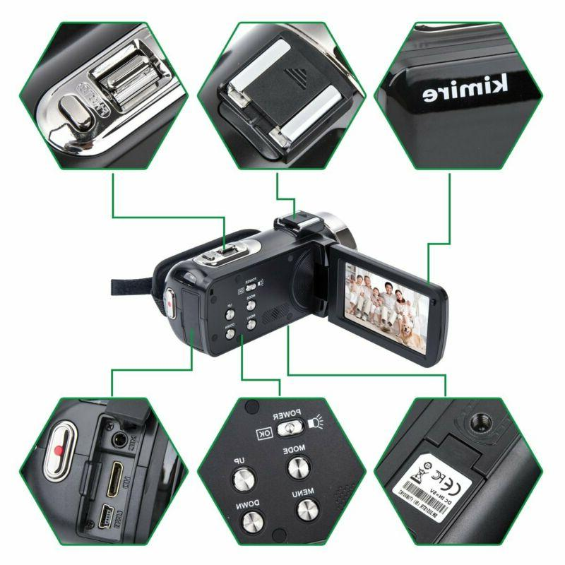Camcorder Camera Microphone Control Infrared