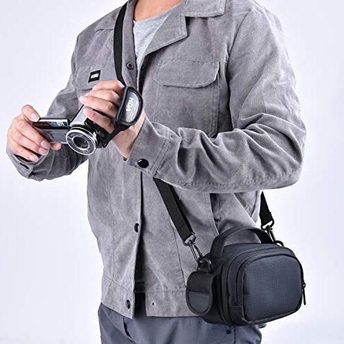 FOSOTO Compatible Canon CX675 HC-V770 HC-V180 HDV-5052STR,PowerLead PL-601 PLD078 HD
