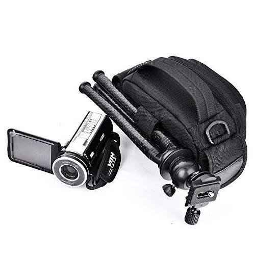 FOSOTO Camera Compatible for Canon VIXIA HF R800 HC-V770 PL-601 PLD078 HD