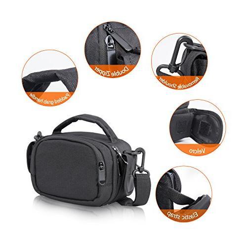 FOSOTO Camcorder Compatible for Canon HF CX675 HC-V770 HC-V180 HD,RockBirds PL-601 Puto PLD078 HD