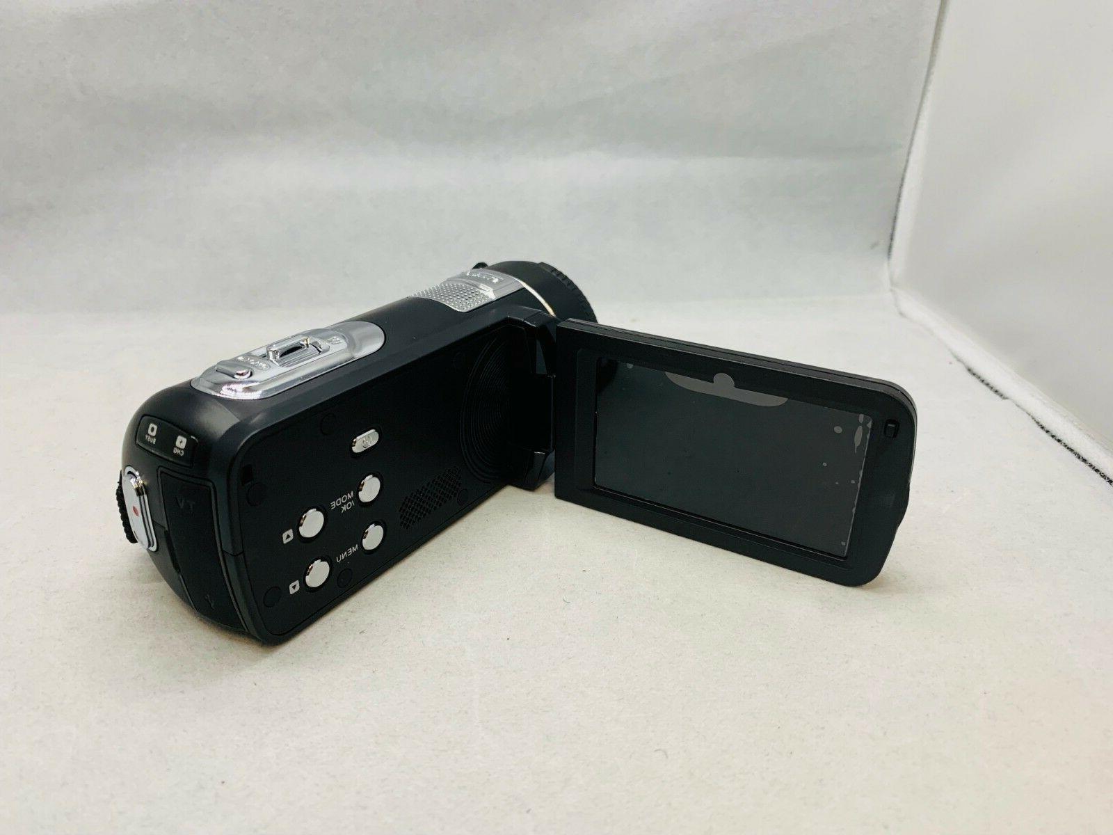 SEREE Camcorder FHD 24.0 HDMI 18× Zoom