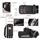SEREE Camcorder Full HD 1080p Digital Video Recorder 3 Inch