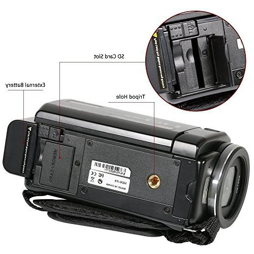 ORDRO Camcorder with
