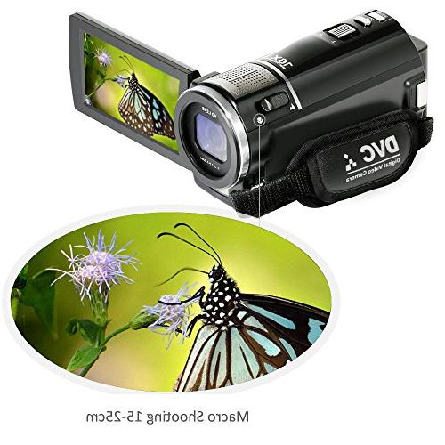 ORDRO 1080P HD Camcorder External