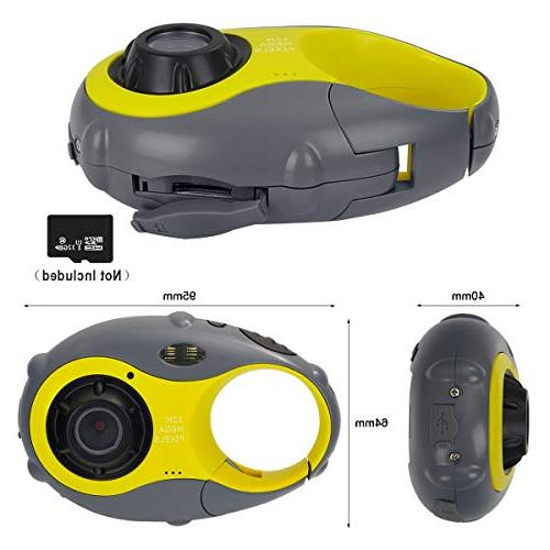 Funkprofi Kids Digital 1080P HD Video Recorder 12MP Camcorder Mini Camera for Boys with Anti-Slip Up Card, Ideal Gift Kids