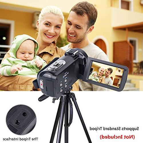 Video HD Inch LCD Rotatable Screen 16X Zoom Recorder 2