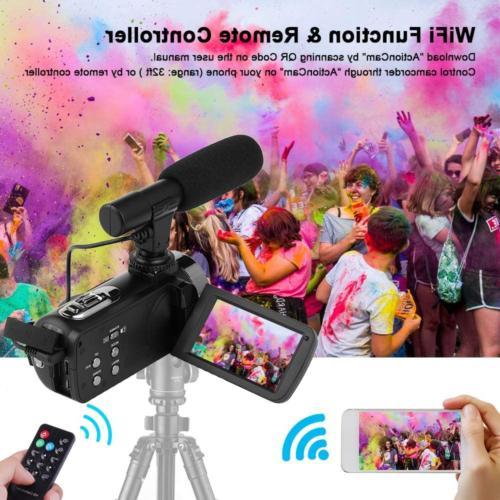 Camcorder Camera 4K Night