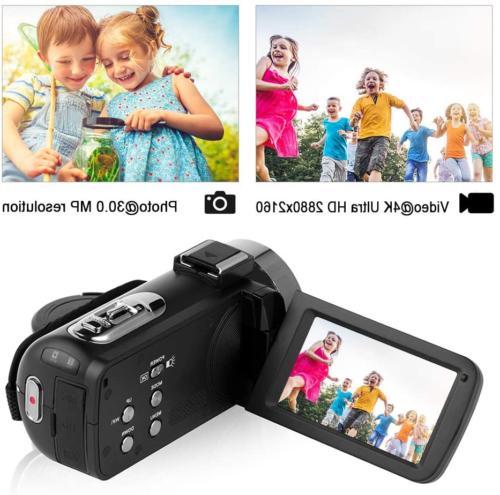 Camcorder Video 48MP Camera Night Vision Camcorder