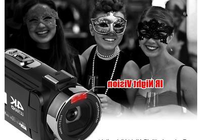 Camcorder 48MP Camera Night Vision